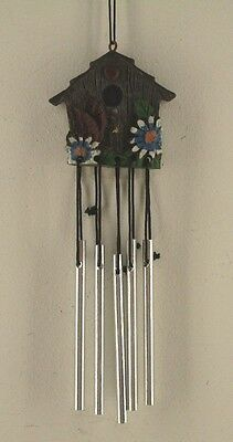 Mini Bird House Wind Chime Pre-Owned