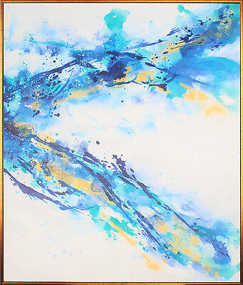 Oil Painting Modern Wall Art Abstract Painting on Canvas FRAMED 60x70cm