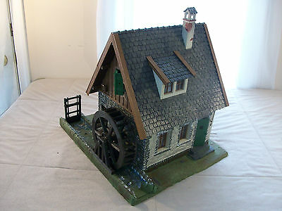 G scale 1:22,5 -  BUILT Operating Old Water Mill - LGB Pola # 935