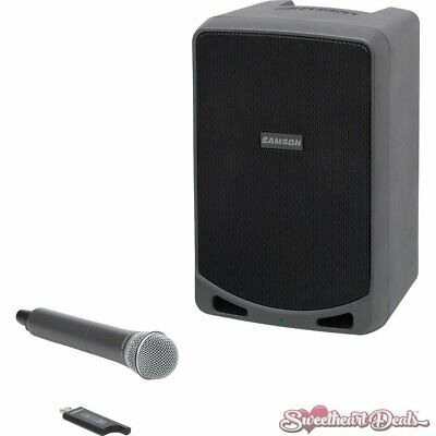 Samson Expedition XP106w Portable PA System with Wireless Handheld Bluetooth Mic
