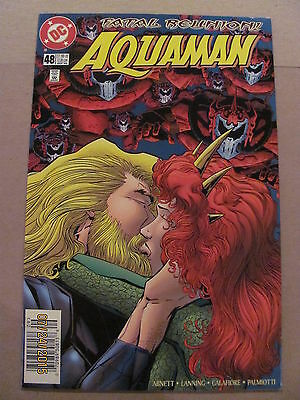 Aquaman #48 DC Comics 1994 Series Peter David Newsstand Edition 9.4 Near Mint