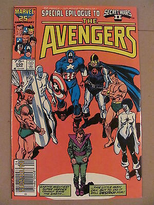 Avengers #266 Marvel Comics Secret Wars II crossover Molecule Man Newsstand