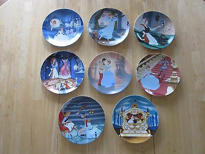 Walt Disney's Cinderella Collector Plate Series - E.J. Knowles Fine China
