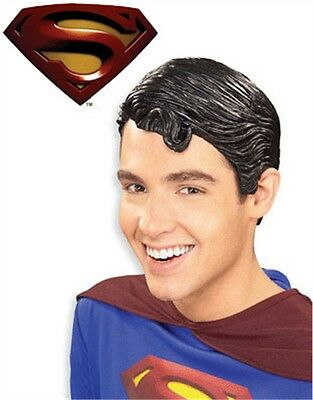 Adult's Vinyl Superman Returns Costume Accessory Wig