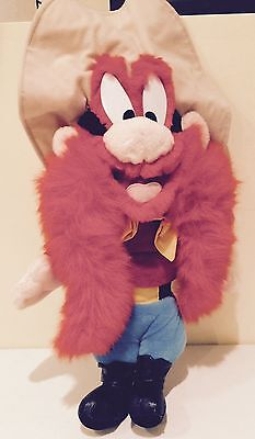 Yosemite Sam Plush Looney Tunes Exclusively at Six Flags Theme Park Rare Tall