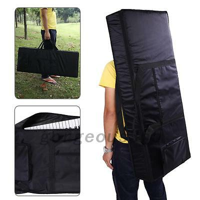 Hot Portable 61-Key Keyboard Electric Piano Padded Case Gig Bag Oxford Cloth