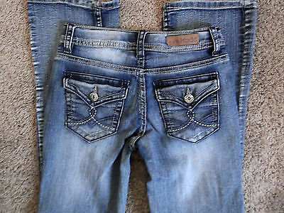 LN Girl's Mudd Stretch Jeans Size 10 R