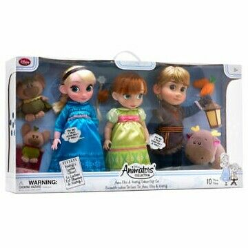 Disney animators collection Anna doll,Frozen,dolls,anna,elsa,kristoff,dolls set