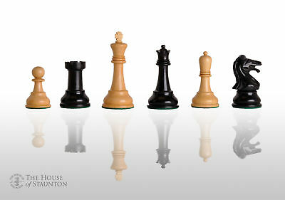 """Reproduction of the Drueke Players Choice Chess Pieces - Pieces Only - 3.75"""" Kin"""