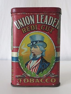 Union Leader Redi Cut Vintage Tobacco Tin
