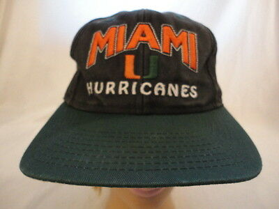 MEN S NCAA THE U Miami Hurricanes Snapback Cap Hat -  19.95  689370fab6a