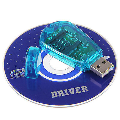 USB Cellphone Writer CDMA SMS Backup SIM Card Reader CD GSM/ Standard