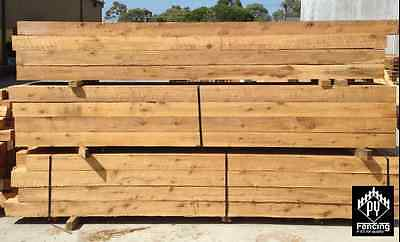 100x100mm QLD Cypress Pine Paling Fence Deck Post Picket Fence Posts