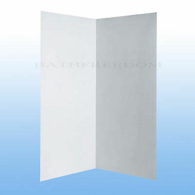 Shower Wall Liner Acrylic Suit 800/820/850/900 Shower Screen 2mm Thickness