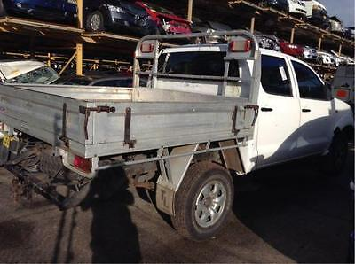 Toyota Hilux, Dual cab, Tray Back, Alloy type