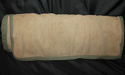 Wwii Era Large Us Army Airborne Pathfinder Signal Corps Cs-18 Canvas Case Only