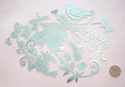 No 173 Scrapbooking - 20 Small To Large Acetate Embellishments