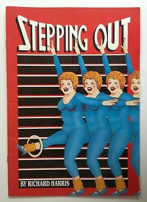 Stepping Out 1985 Adelaide Opera Theatre Rowena Wallace Colette Mann