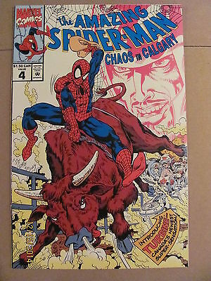 Amazing Spider-Man Chaos in Calgary #4 Rare Canadian Edition