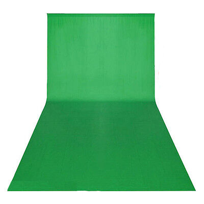 Photo Green Screen chroma key 10x20ft/3 x 6M Background Backdrop Photographic DT