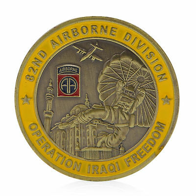 82nd Airborne Division Saint George Commemorative Challenge Coin Collection Gift