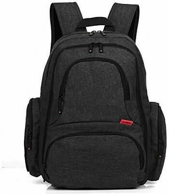 CoolBell Baby Diaper Backpack With Insulated Pockets Large Size Baby Bag Pad