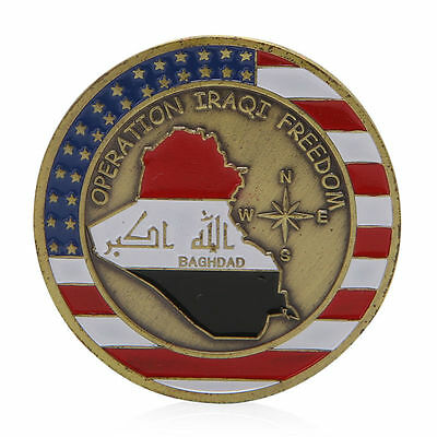 Saint George Baghdad Operation Iraqi Freedom Commemorative Challenge Coins Gift