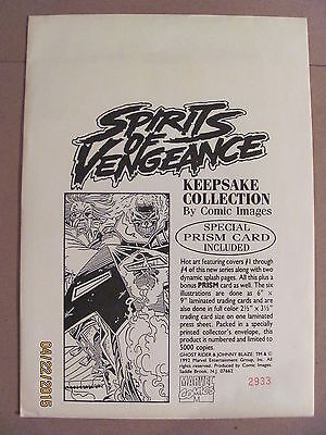 Spirits of Vengeance Keepsake Collection #2933/5000 Marvel 1992 Ghost Rider