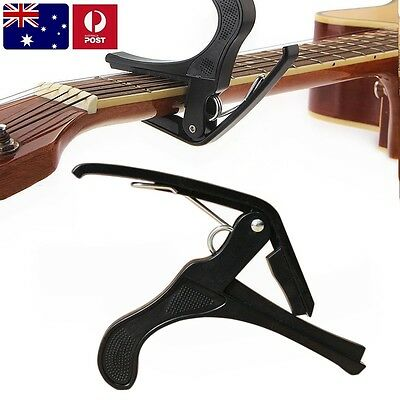 Quick Change Tune Clamp Key Trigger Capo For Acoustic Electric Classic Guitar