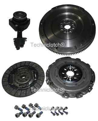 Ford Focus Ii 5 Sp 1.8 Tdci Dual Mass To Single Flywheel, Clutch Kit, Csc, Bolts
