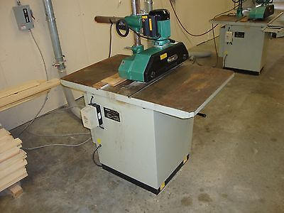 """5HP 12"""" Lobo Tablesaw with feeder"""