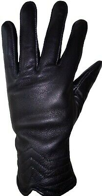 Women Motorcycle Winter Gloves Leather Motorbike Biker Rider Touring Warm Gloves