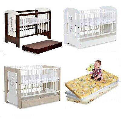 Safari Baby Cot + Mattress + Container Optional / Selection Of Cots  Mattresses