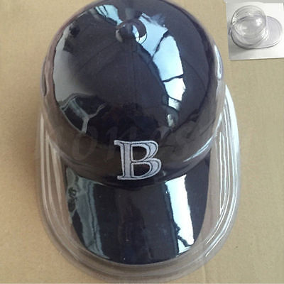 Acrylic Clear Baseball Football Cap Dustproof Hat Display Case Holder Protector