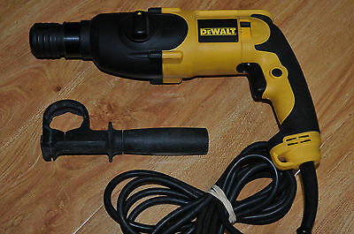 DeWalt D25012-XE Pistol Grip Two Mode SDS Rotary Hammer Drill / Very Good Cond.