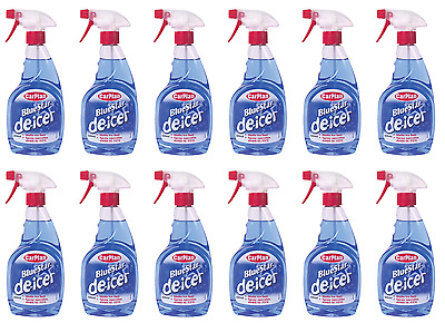 12 x CarPlan Blue Star De-Icer DeIcer De Icer Fast Melt Trigger 500ml - TDI501