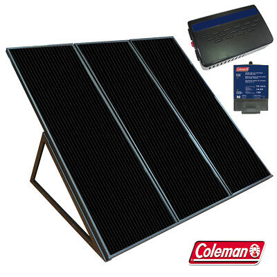 55W / 12V Solar Panel Back up Generator Coleman 58050 55 Watts 12 Volts