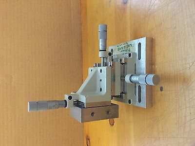 Line Tool Co XYZ Linear Translation Stage 3-Axis? with Micrometers RHFF? Model A