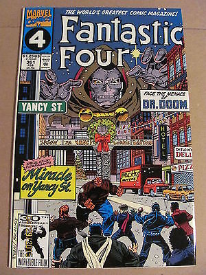 Fantastic Four #361 Marvel Comics 1961 Series 9.2 Near Mint-