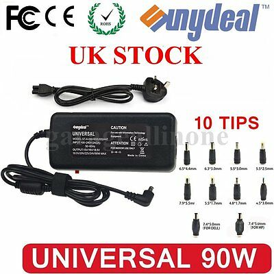 Universal AC Laptop Charger 90W For HP ASUS ACER DELL SONY POWER Adapter w/ USB