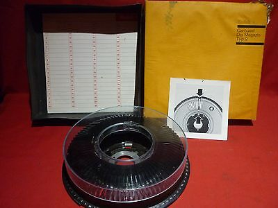 KODAK TYPE 2 80 COUNT SLIDE MAGAZINE FOR 35mm SLIDE PROJECTORS VGC