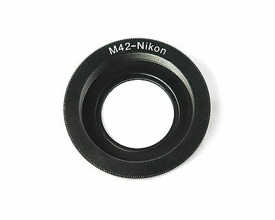 M42 Screw Mount Lens to NIKON F Mount Adapter Ring with Infinity Glass - AUSPOST