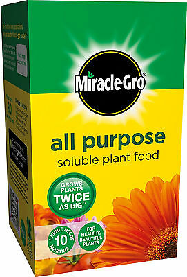 Miracle-Gro All Purpose Soluble Plant Food Carton Feed Plants Easy to Grow 1 kg