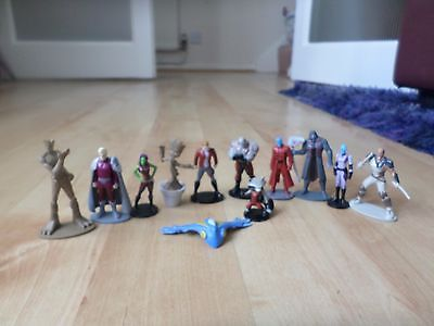 12   Figures Disney  The Guardians of the Galaxy 2  figurines toys cake toppers