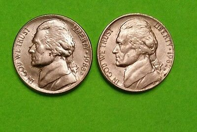 United States, 1982, 1988  5 Cent, ~Nickel ~Nice Examples-