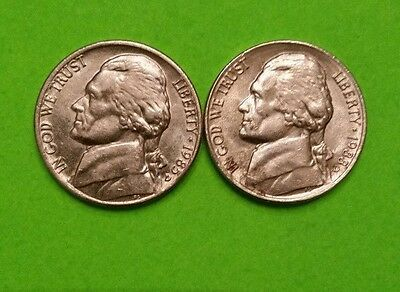 United States, 1985, 1988  5 Cent, ~Nickel ~Nice Examples-