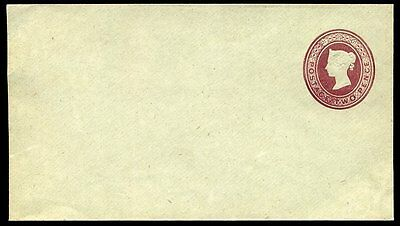 1894 Postal Stationery Envelope Stamped To Order 2d Lake Unused