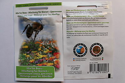 1000/1500 Seeds/1g Flower mixture for Bees#581