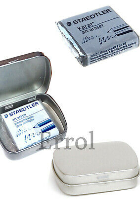 Staedtler Art Eraser. Kneadable Artists Putty Rubber. With or Without Tin