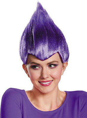 Blue Wacky Wig Adult Thing 1 2 Gnome Clown Doll Costume Team Dr Seuss 90/'s